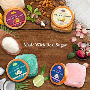 Tree Hut Shea Sugar Scrub Tropical Mango - Coco Mink Lashes
