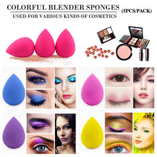 Load image into Gallery viewer, BEAKEY 5 Pcs Beauty Blender