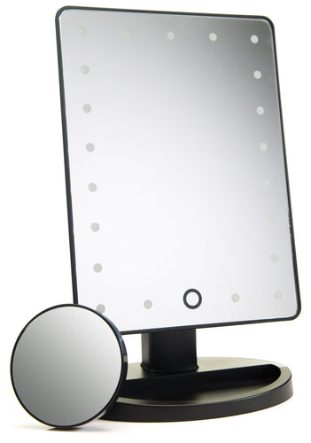 Vanity Mirror Touch Screen With Lights