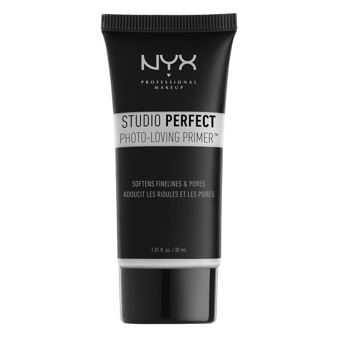 NYX PROFESSIONAL MAKEUP Studio Perfect Primer, Clear, 1.0 oz/30ml - Coco Mink Lashes