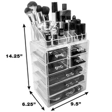 Load image into Gallery viewer, Acrylic Cosmetic Makeup Storage Case Display - Coco Mink Lashes