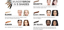 Load image into Gallery viewer, WUNDER2 WUNDERBROW Waterproof Long Lasting Eyebrow Gel - Coco Mink Lashes