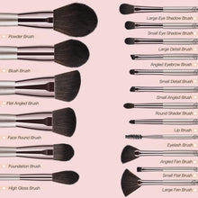 Load image into Gallery viewer, BESTOPE 18 Pcs Makeup Set