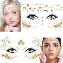 Load image into Gallery viewer, Konsait 8 Sheets Face Tattoo Sticker - Coco Mink Lashes