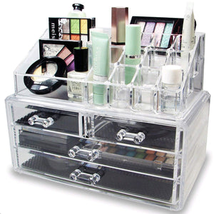 Ikee Design Acrylic Jewelry Makeup Cosmetic Storage - Coco Mink Lashes