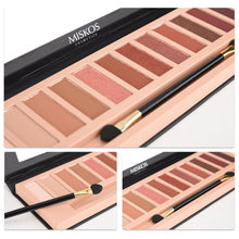 Load image into Gallery viewer, MISKOS 12 Colors Nude Eyeshadow Palette Shimmer And Matte - Coco Mink Lashes
