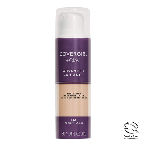 COVERGIRL Advanced Radiance Age Defying Foundation - Coco Mink Lashes