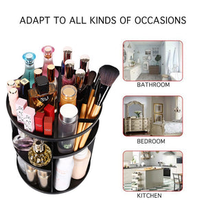 sanipoe 360 Rotating Makeup Organizer - Coco Mink Lashes