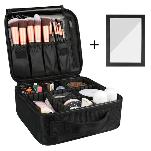Rosmax Makeup Travel Case With Dividers