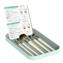Load image into Gallery viewer, EcoTools Makeup Brush Set - Coco Mink Lashes