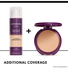 Load image into Gallery viewer, COVERGIRL Advanced Radiance Age Defying Foundation - Coco Mink Lashes