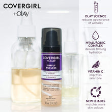 Load image into Gallery viewer, Covergirl & Olay Simply Ageless 3-in-1 Foundation - Coco Mink Lashes