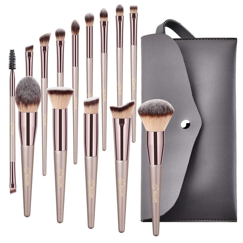 BESTOPE Makeup Brushes 14 Pieces