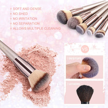 Load image into Gallery viewer, BESTOPE Makeup Brushes 14 Pieces - Coco Mink Lashes