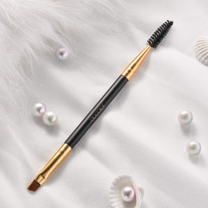 Duo Eye brow Brush Professional Tool