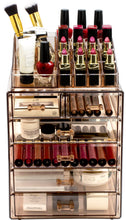 Load image into Gallery viewer, Sorbus Cosmetic Makeup and Jewelry Storage Case Display - Coco Mink Lashes