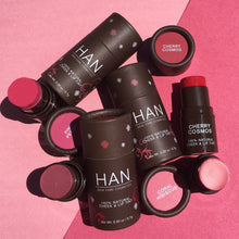Load image into Gallery viewer, HAN Skincare Cosmetics All Natural Cheek and Lip Tint, Rose Berry - Coco Mink Lashes