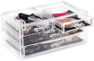 Clear Cosmetic Storage Organizer - Coco Mink Lashes