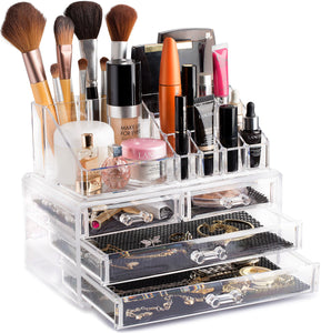 Clear Cosmetic Storage Organizer