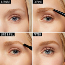 Load image into Gallery viewer, Maybelline New York Brow Define Plus Fill Duo Makeup, Medium Brown - Coco Mink Lashes