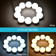 Load image into Gallery viewer, Hollywood LED Light Bulb Makeup Mirror - Coco Mink Lashes