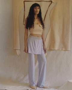 DRAPE pants with a skirt