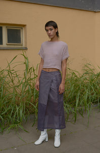 GAUZE Crop Top RUSTY