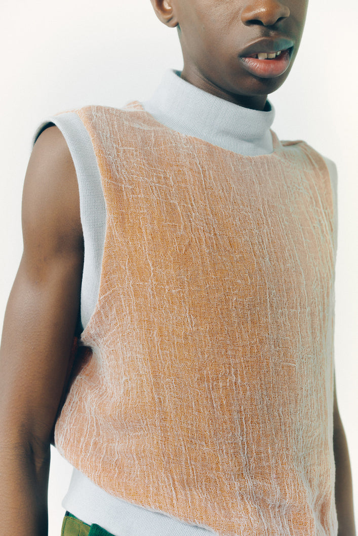 GAUZE tank top  DUSTY GERBER