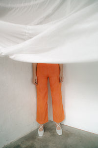 GAUZE pants BLOOD ORANGE