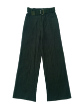 Load image into Gallery viewer, CREASED CORDUROY trousers DARK GREEN