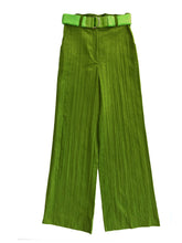 Load image into Gallery viewer, CREASED CORDUROY trousers GRASS GREEN