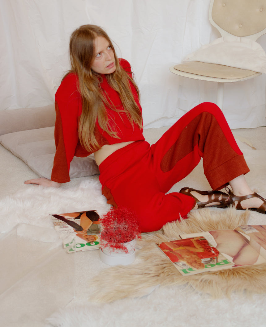 CHIAROSCURO Pant RED