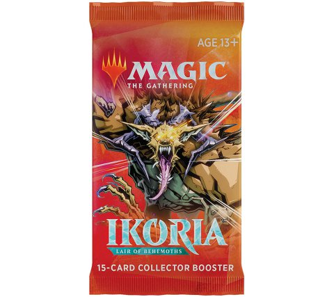 Magic the Gathering CCG: Ikoria - Lair of Behemoths Collector Booster