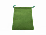 Green Velour Dice Pouch (Small) CHX 02375