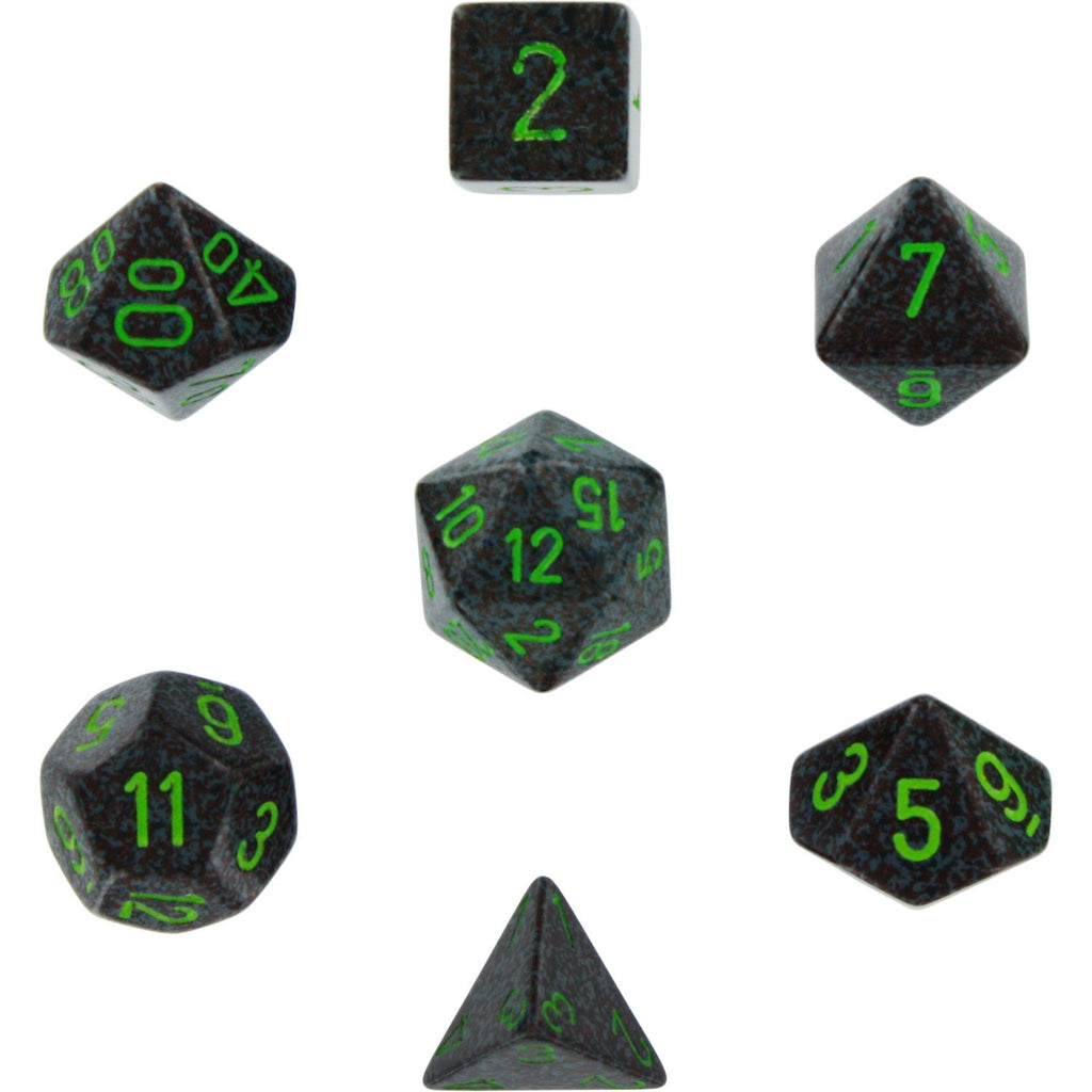 Earth: Speckled Polyhedral Dice Set (7's) CHX 25310