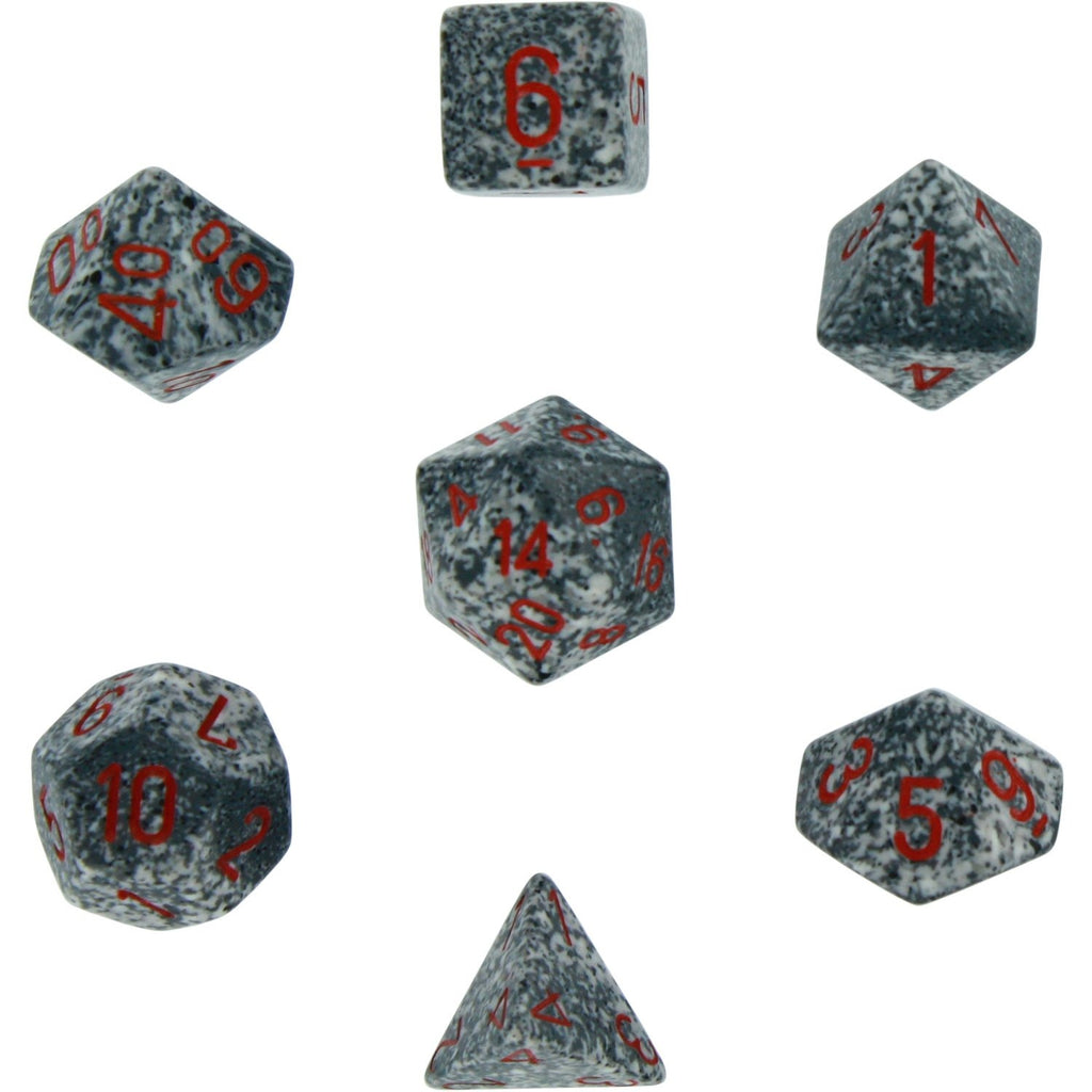 Granite: Speckled Polyhedral Dice Set (7's) CHX 25320