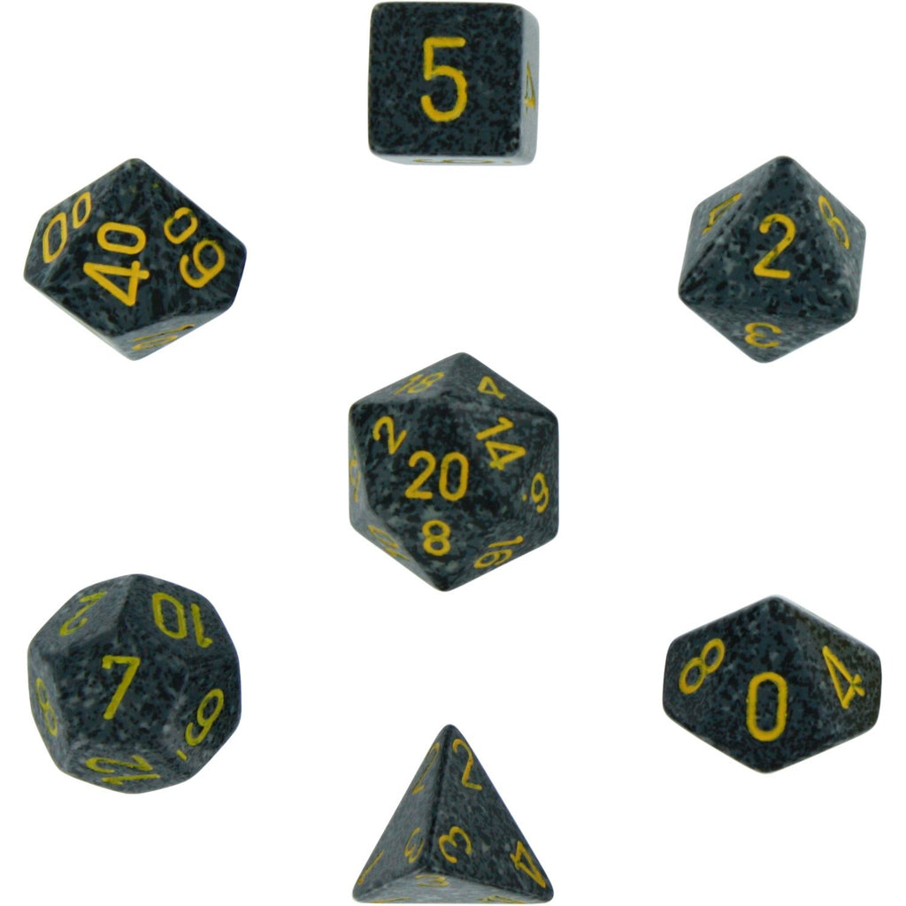 Urban Camo: Speckled Polyhedral Dice Set (7's) CHX 25328
