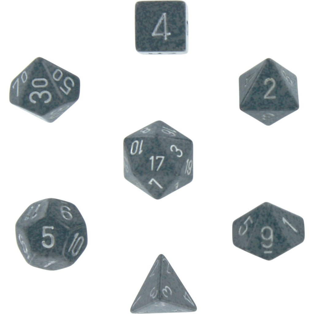 Hi Tech: Speckled Polyhedral Dice Set (7's)CHX 25340
