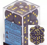 Twilight: Speckled 12d6 16mm Dice Set CHX 25766