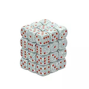 Air: Speckled 36d6 12mm Dice Set CHX 25900