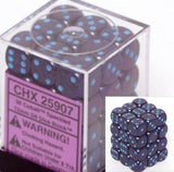 Colbalt: Speckled 36d6 12mm Dice Set CHX 25907