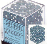 Sea: Speckled 36d6 12mm Dice Set CHX 25916