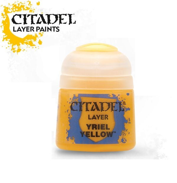 Yriel Yellow: Citadel Layer Paints GAW 22-01-S