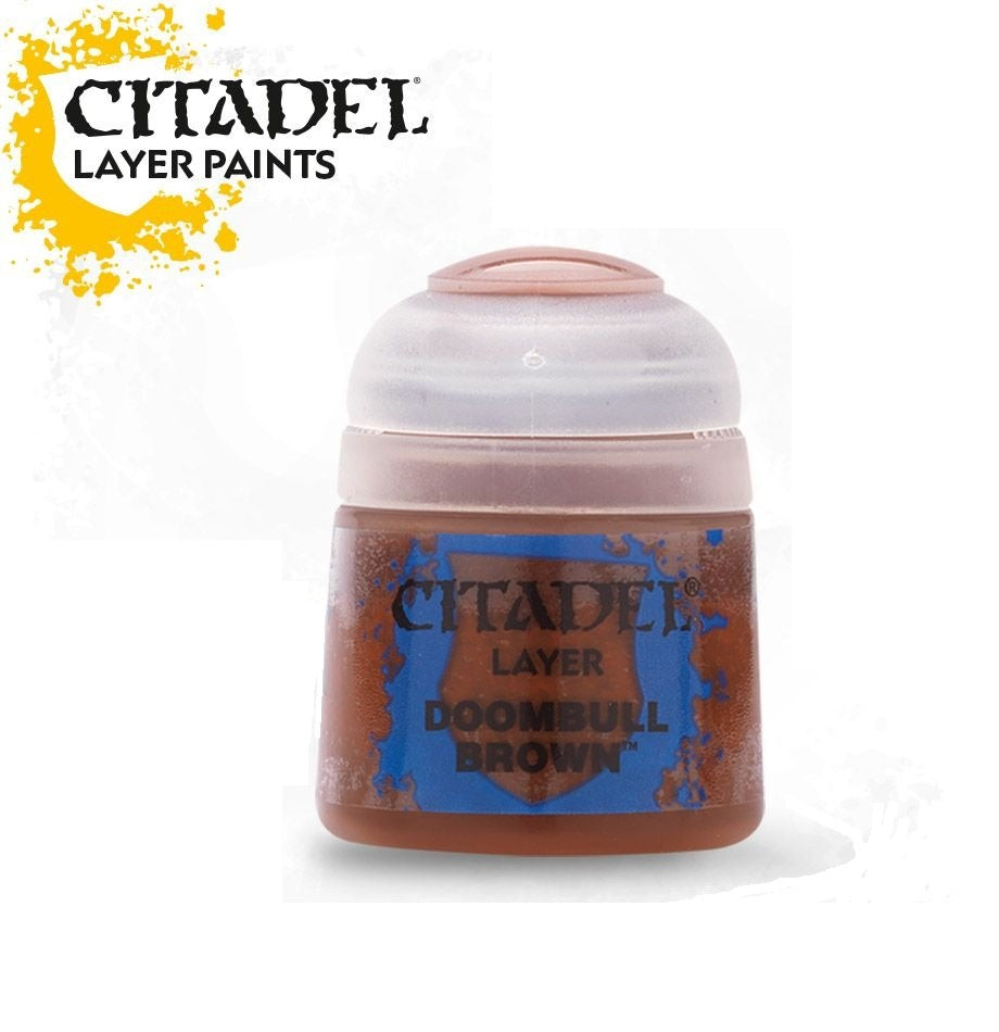 Doombull Brown: Citadel Layer Paints GAW 22-45-S