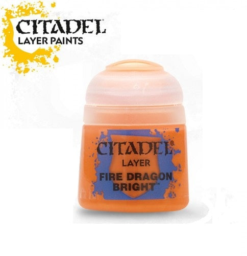 Fire Dragon Bright: Citadel Layer Paints GAW 22-04-S
