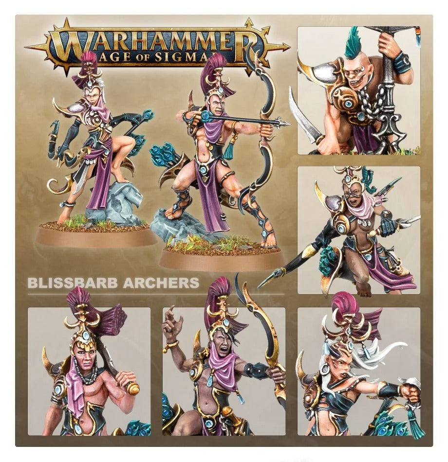 Blissbarb Archers: Hedonites of Slaanesh GAW 83-83