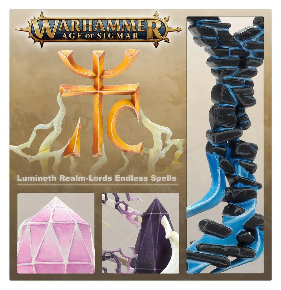 Lumineth Realm-Lords Games Workshop GAW 87-64 Endless Spells