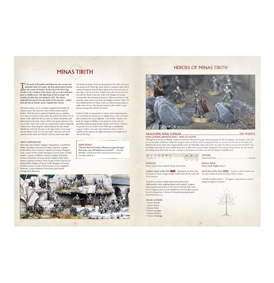 Armies of The Lord of The Rings: Middle-Earth SBG GAW 01-02-60