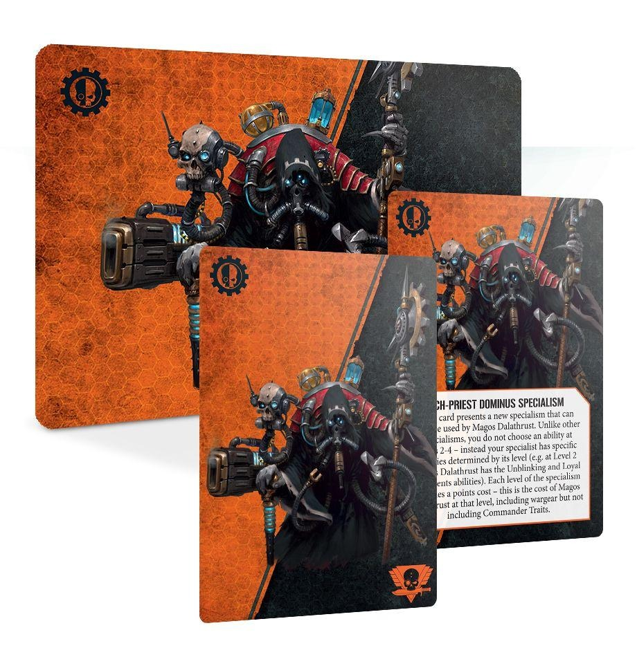 Magos Dalathrust - Adeptus Mechanicus Commander Set: Kill Team GAW 102-42-60