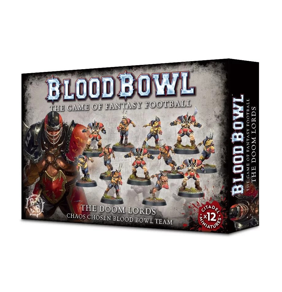 The Doom Lords: Chaos Chosen Blood Bowl Team GAW 200-47